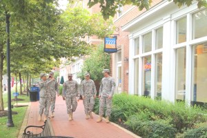 Ft. Belvoir has integrated many elements of smart growth and compact urban design into its planning. Photo: Tanya Snyder