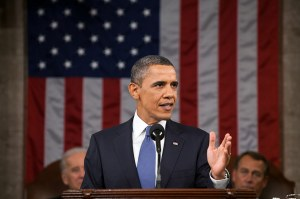 In last night's State of the Union speech, President Barack Obama indicated he'll bypass Congress to get things done. Do those things include transportation? Photo: ##http://www.whitehouse.gov/state-of-the-union-2013## the White House##
