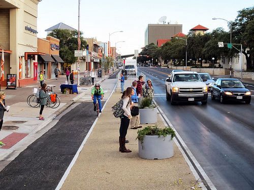 Guadalupe Street in Austin, Texas. Photo: