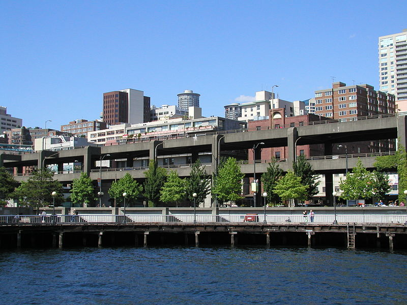 The project to replace the Alaskan Way Viaduct with a buried highway in Seattle is off to an absolutely disastrous start. Image: Wikipedia