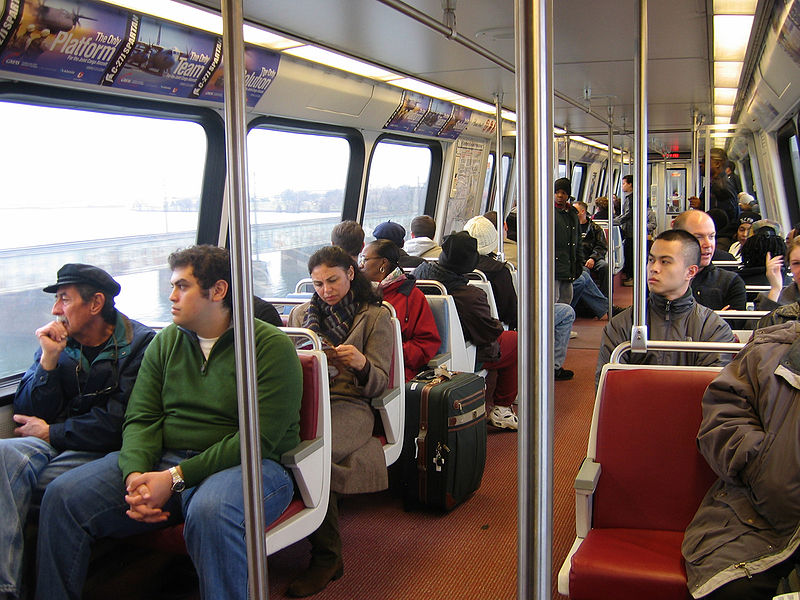 Public transit ridership grew 1.1 percent in 2013, three times faster than driving. Photo: Wikipedia