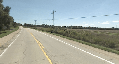 Wisconsin's justification for the $125 million widening of rural Highway 38 was never very clear. Fortunately it looks like the state has dropped the project. Photo: America 2050