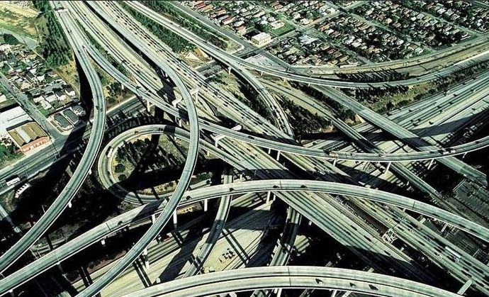 Image result for highway intersection picture