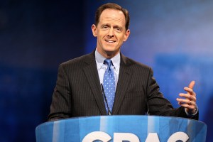 Sen. Pat Toomey's answer to the transportation funding crisis is to stop funding the most cost-effective projects. Photo: ##https://www.flickr.com/photos/gageskidmore/8565245671/##Flickr/gageskidmore##