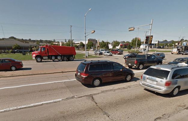 In the planning of Verona Road in Madison, Wisconsin, neighborhood concerns took a back seat to moving traffic. Image: Google Maps