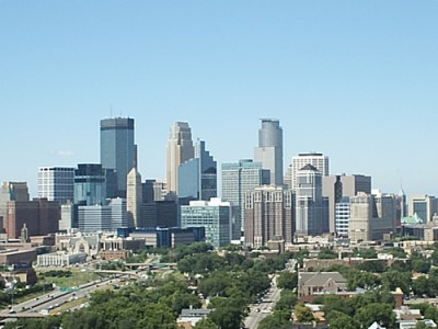 Minneapolis' attempt to reign in job sprawl has been ineffective, according to Good Jobs First. Photo: Wikipedia