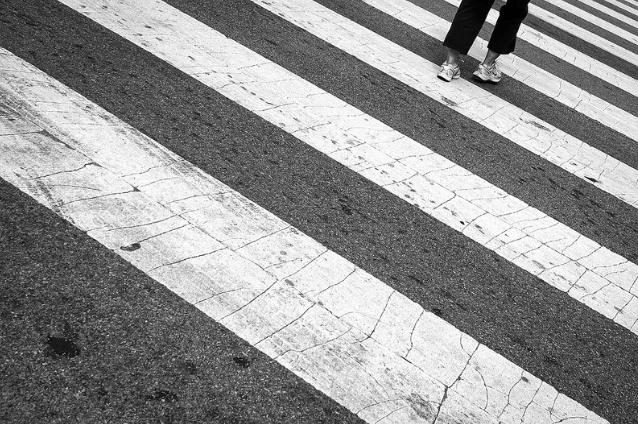Will drivers yield? That depends, in part, on a few factors. Photo: Hans-Jörg Aleff on Flickr