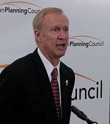 Bruce Rauner, the mysterious next governor of Illinois. Photo: Wikipedia