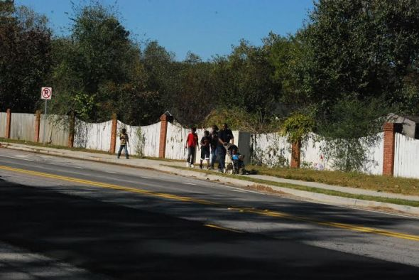 Walking is great, but Clayton County's car-free households are about to get some transportation options. Photo courtesy of Georgia Chapter, Sierra Club