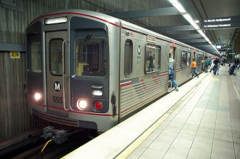 LA Metro's expansion plans would get a boost with Obama's $100 million endorsement of the Purple Line extension. Photo: Wikipedia