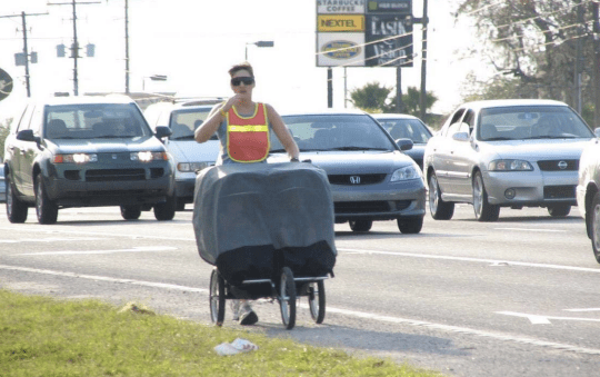 Fowler Avenue in Tampa, one of the country's most dangerous cities for pedestrians. Photo: FDOT