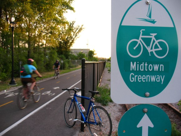 Biking jumped 58 percent in the Twin Cities region between 2000 and 2010. Photo: Wikipedia