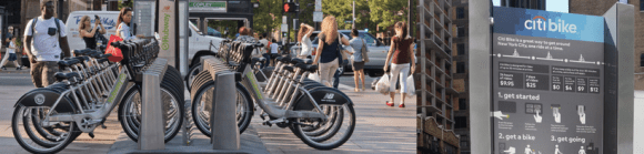 Cities are gaining more insight about how to make bike share work for the poor. Photo: NACTO