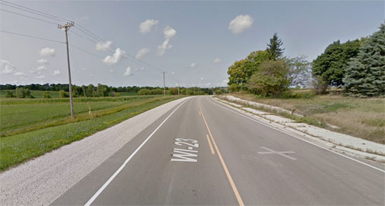 American spends billions of dollars widening roads that don't need widening, like Wisconsin State Route 23.