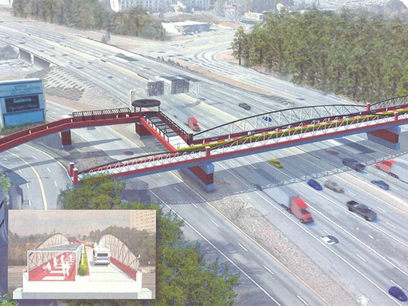 "How will Cobb County fund the ""magic bridge?"" Image: AJC"