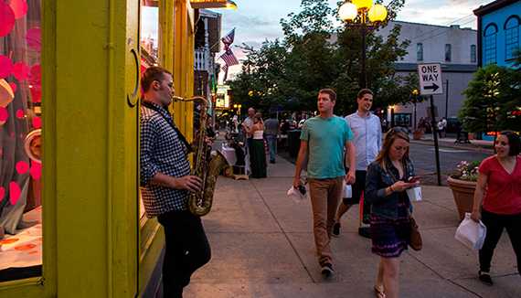 "Planners will more easily be able to design ""Great Streets"" like Fifth Street in Dayton, Ohio, pending new federal rules. Photo: APA"