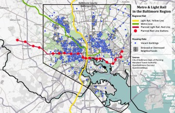 Governor Larry Hogan canceled Baltimore's Red Line in June. Now civil rights groups are suing. Image: Railfanguides