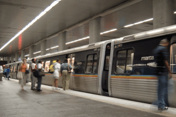 There's strong support for expansing MARTA among voters, but Georgia state lawmakers are stranding in the way. Photo: Wikipedia