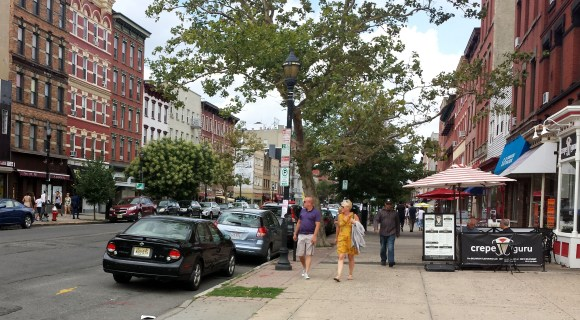The federal government threw out 11 rules that prevented cities from building walkable streets Photo: NJbikeped.org