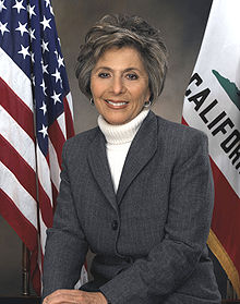 Democratic Senator Barbara Boxer (CA), ranking member of the Committee on the Environment and Public Works. Photo: Wikipedia