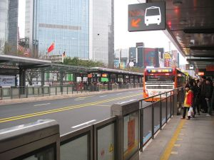 Guangzhou Bus Rapid Transit carries 1 million riders a day. Photo: Wikipedia