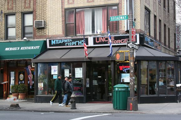 Apartment-style housing with ground-floor retail used to be a staple from small towns to big cities. But strict federal lending rules have made them nearly impossible to build or renovate. Photo: Wikipedia