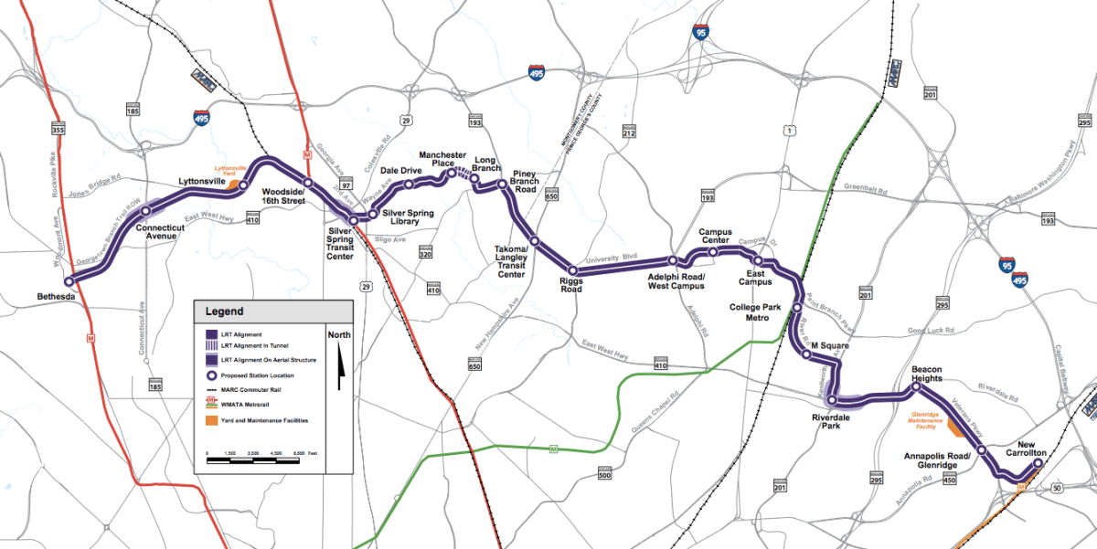 photo image Federal Judge's Delay Tactics Threaten to Halt Maryland's Purple Line