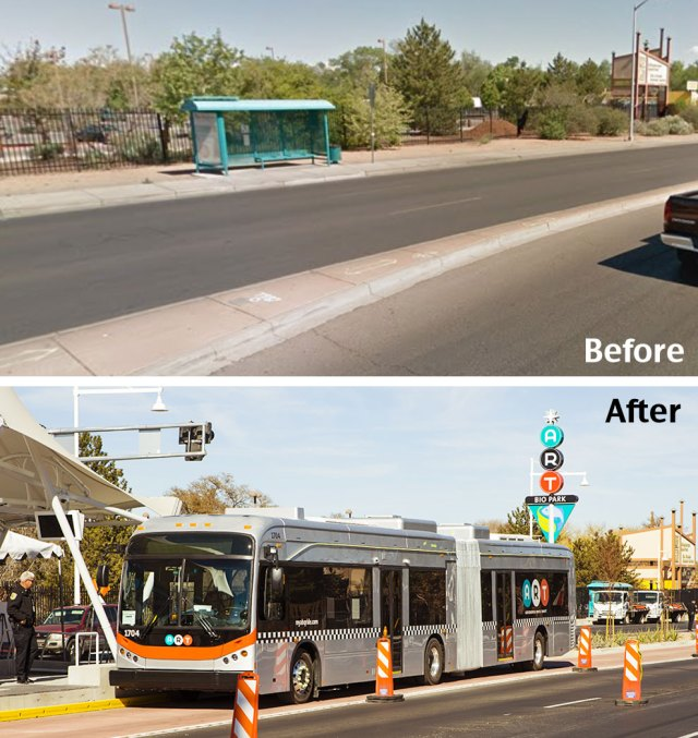 Albuquerque's Groundbreaking Bus Project Stalled – Streetsblog USA