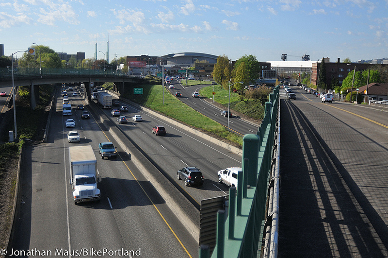 photo image The Greenwashing of a Portland Highway Expansion