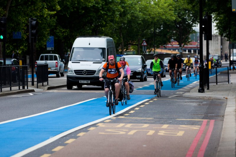 Tally Ho! London Breaks its Cycling Record