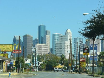 City leaders in Houston have proposed road diets throughout the central city. Photo: Wikipedia