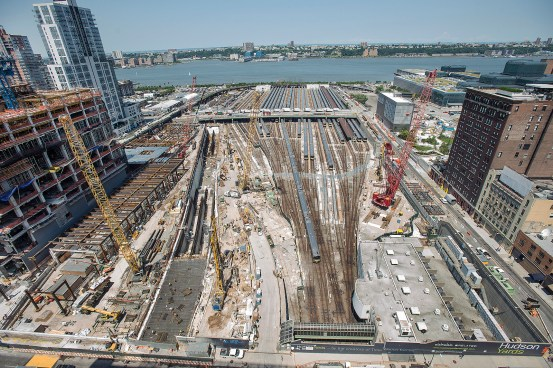 Amtrak's proposed Gateway project would enter Manhattan under Hudson Yards, pictured here.