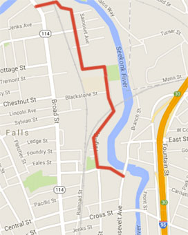 Map: Transport Providence
