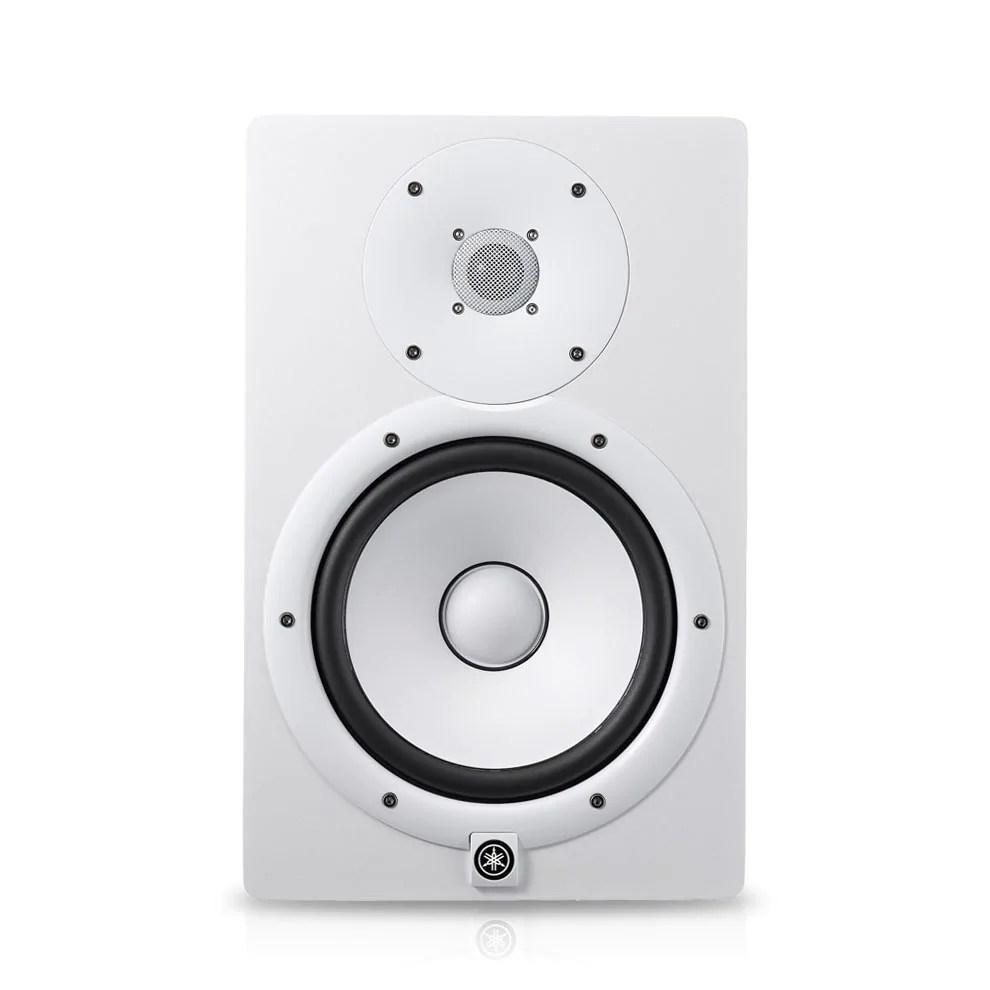 medium resolution of hs8i white powered studio monitor