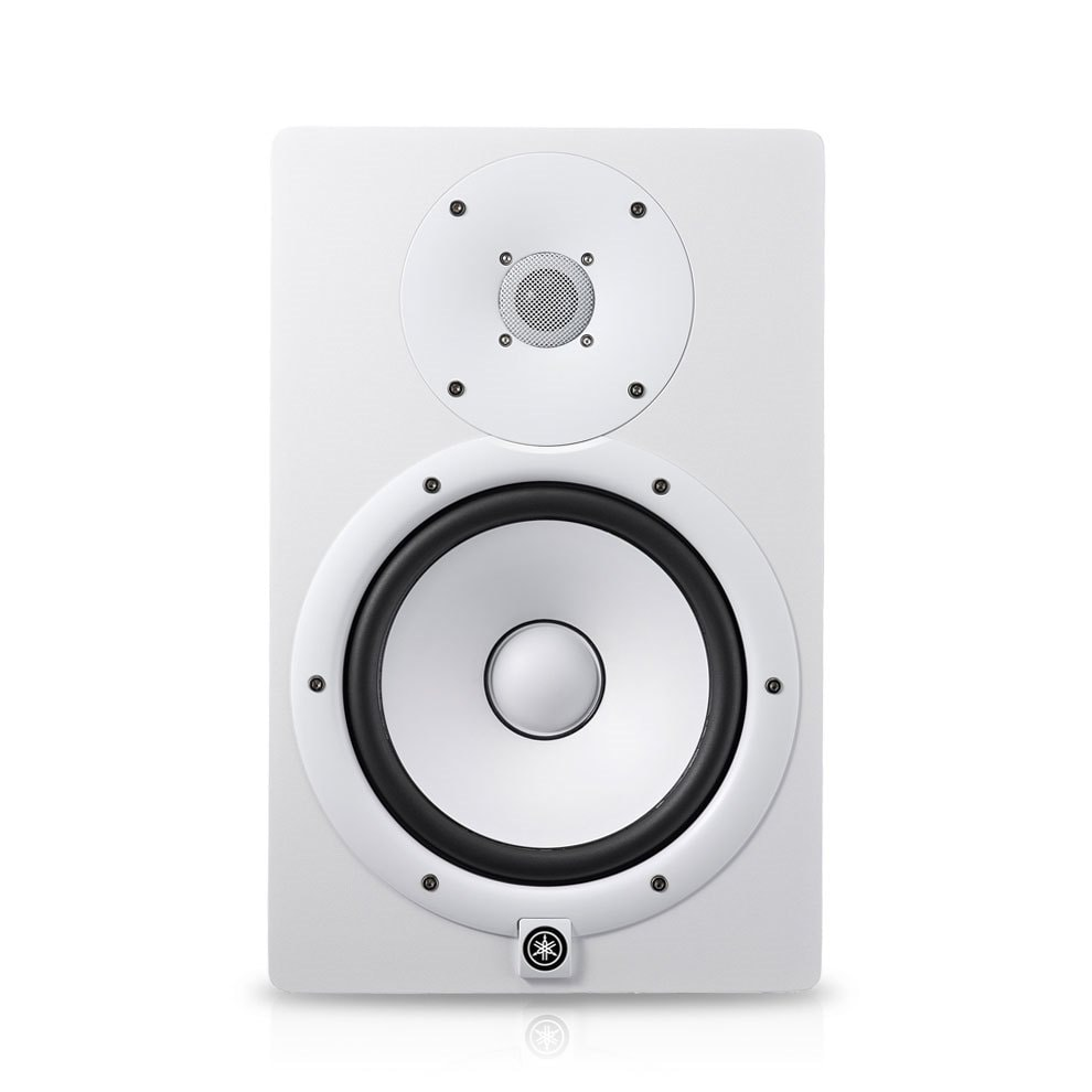 hight resolution of hs8i white powered studio monitor
