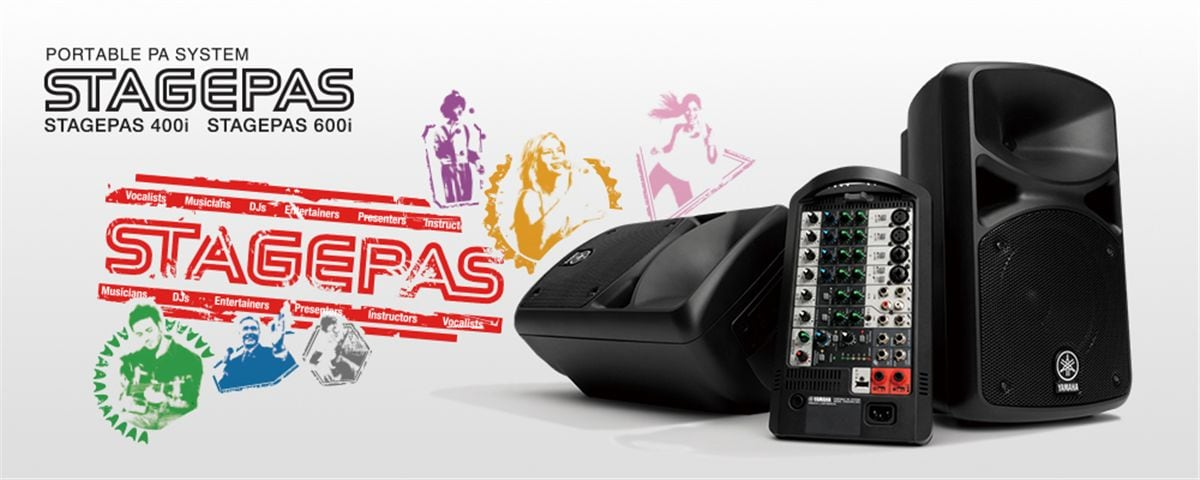 STAGEPAS 400i 600i  Overview  PA Systems  Professional