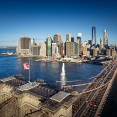 Brooklyn Bridge: icoon van New York City