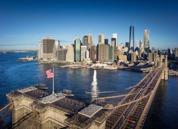 Brooklyn Bridge: icoon van New York City