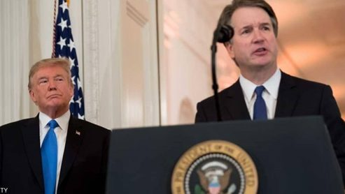 "Photo of أول تعليق لترامب بعد فوز ""كافانو"" في تصويت مجلس الشيوخ الأمريكي"