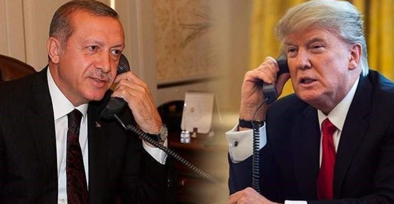 Photo of ترامب وأردوغان بحثا هاتفيا قضايا منها التجارة وسوريا