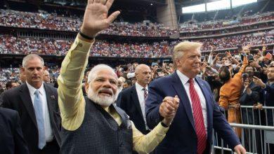 Photo of ترامب يتعهد بمكافحة الإرهاب الإسلامي أثناء تجمع لرئيس الوزراء الهندي في تكساس
