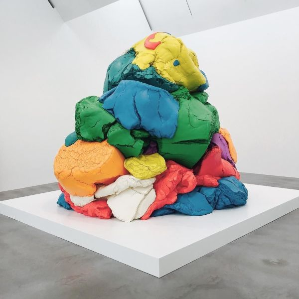 Play-Doh Sculpture Jeff Koons