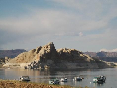 Lake Powell - Ein riesiger See mitten in der Wüste.
