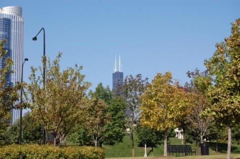 Chicago im Herbst