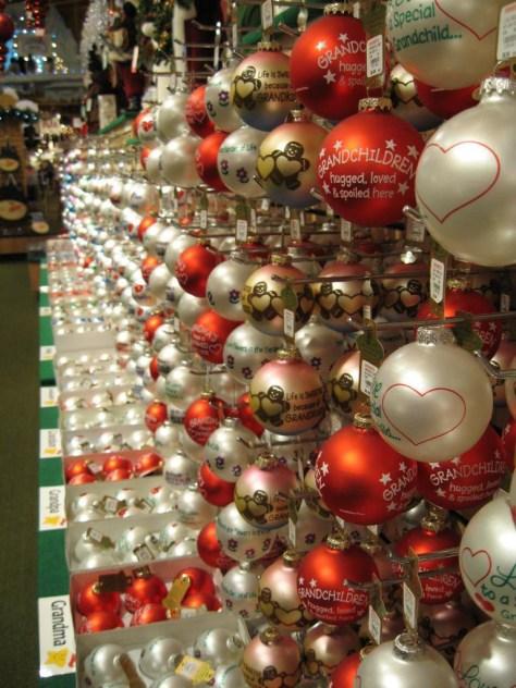 Weihnachtskugeln ohne Ende