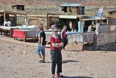 Verkaufsstand der Navajos