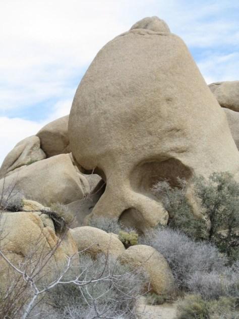 Der berühmte Skull-Rock