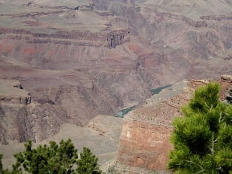 Dieser kleine Fluss, hat diese grandiose Landschaft geformt