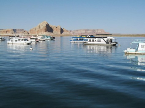 Boote in der Wüste