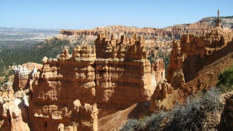 "Bryce Canyon. ""It's a hell of a place to lose a cow."""